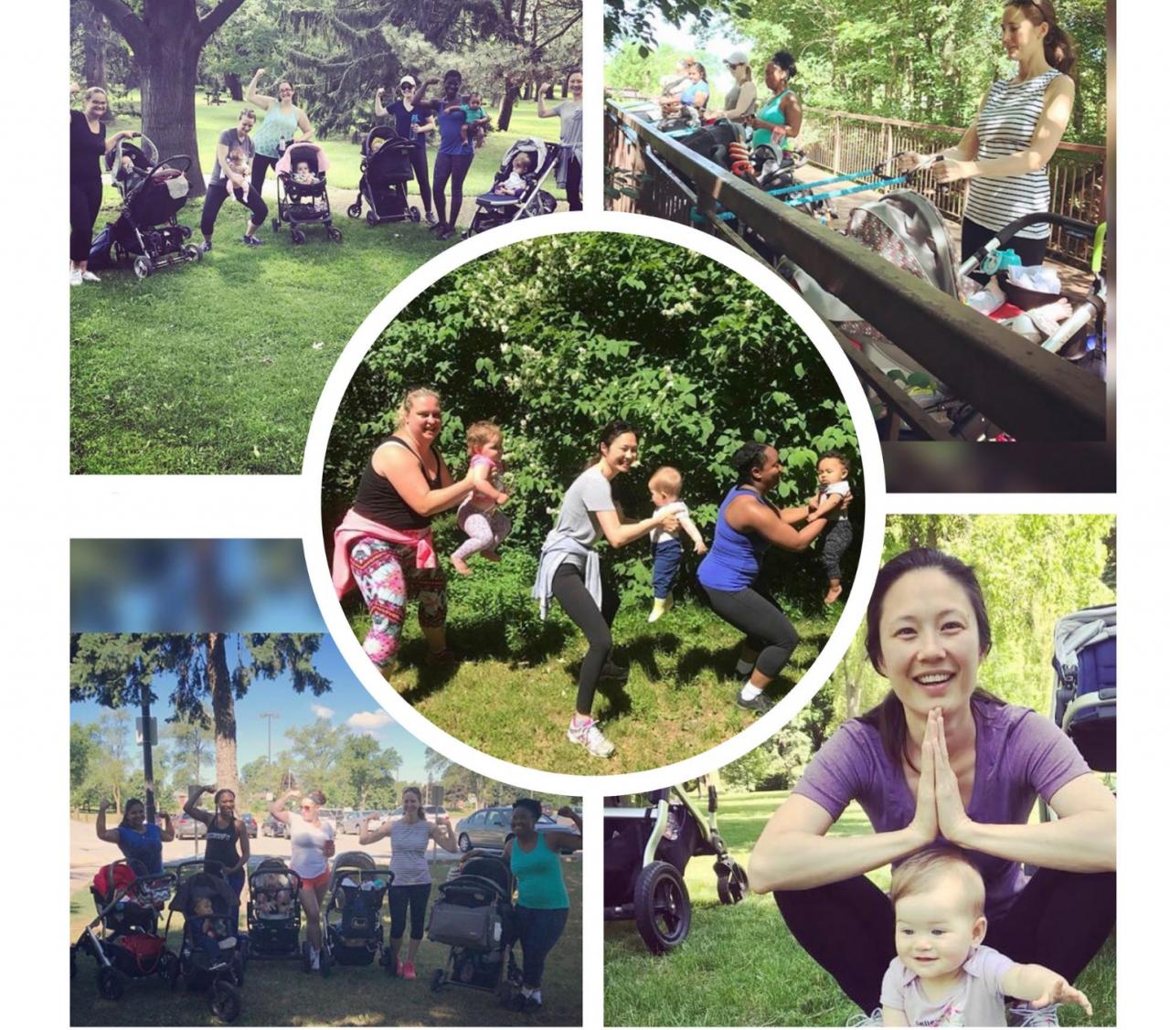 Postnatal Mom & Baby Stroller Fitness Oshawa, Whitby, Ajax